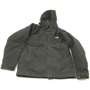 The North Face Men's Winter Jacket Hooded Black L